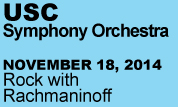 USC Symphony (Rock with Rachmaninoff)