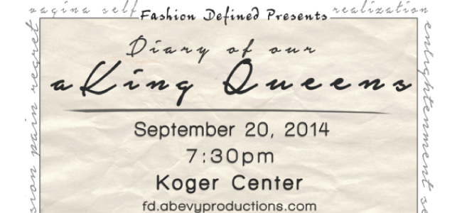 Diary of our aKing Queens