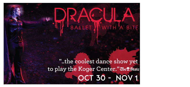 Dracula presented by the Columbia City Ballet