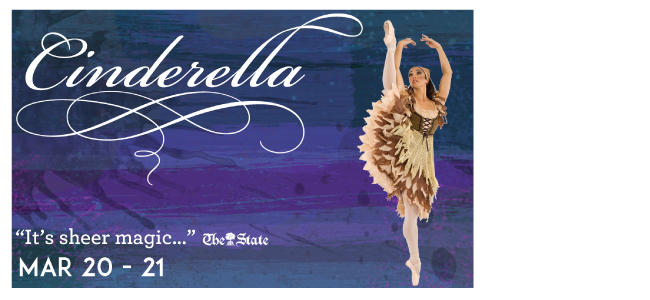 Cinderella presented by the Columbia City Ballet