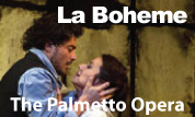 La Boheme presented by The Palmetto Opera