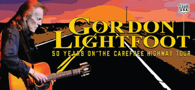 Gordon Lightfoot: 50 Years on the Carefree Highway Tour
