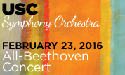USC Symphony Orchestra - All-Beethoven Concert