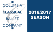 Columbia Classical Ballet 2016-2017 Season