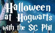 Halloween at Hogwarts with the SC Phil