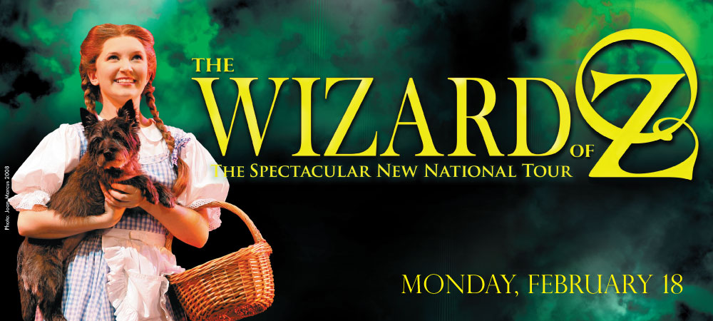 Broadway in Columbia presents The Wizard of Oz