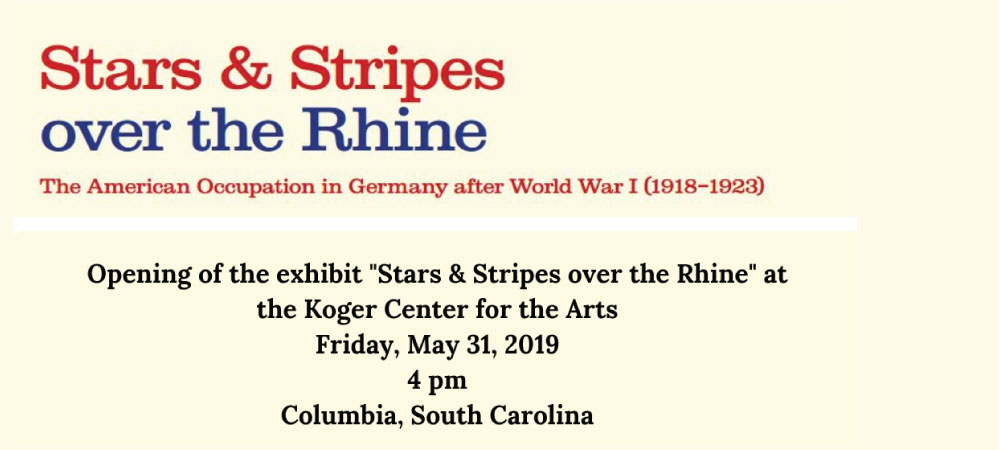Stars and Stripes Over the Rhine: Opening Reception