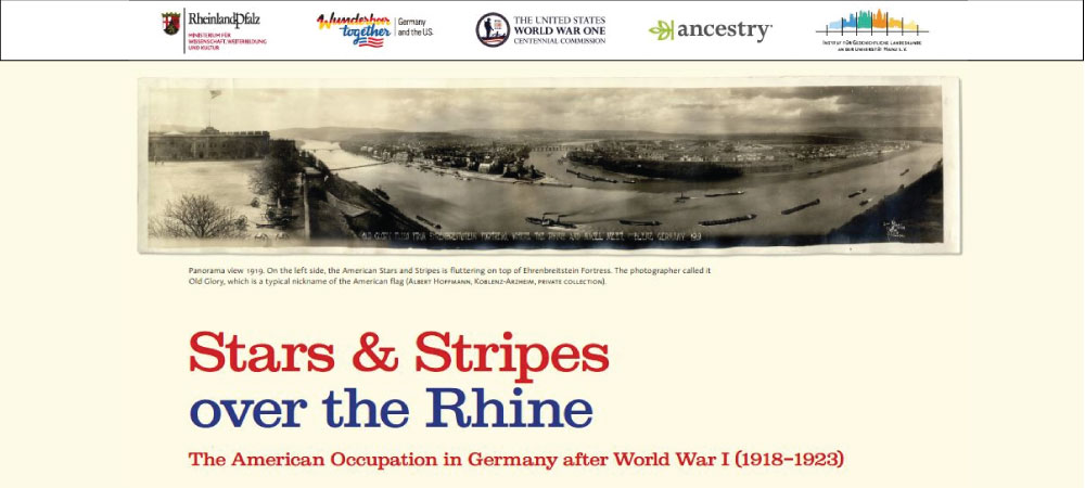Stars & Stripes Over the Rhine Exhibition