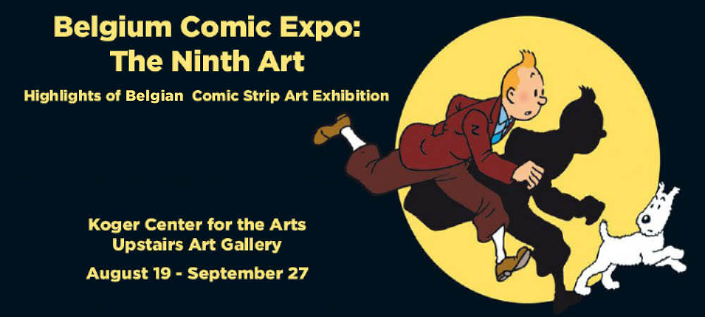 Belgium Comic Expo: The Ninth Art - Opening Reception