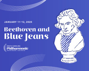 South Carolina Philharmonic presents Beethoven and Blue Jeans