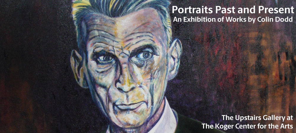 Portraits Past and Present - An Exhibition of Work by Colin Dodd