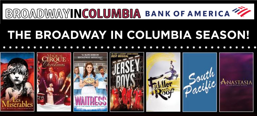 Broadway In Columbia Season