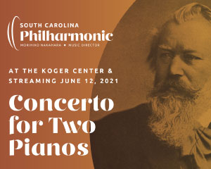 SC Philharmonic presents Concerto for Two Pianos